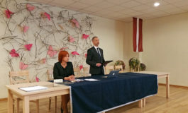 Jāņa Bordāna runa par politisko situāciju valstī Jaunās konservatīvās partijas 2. kopsapulcē