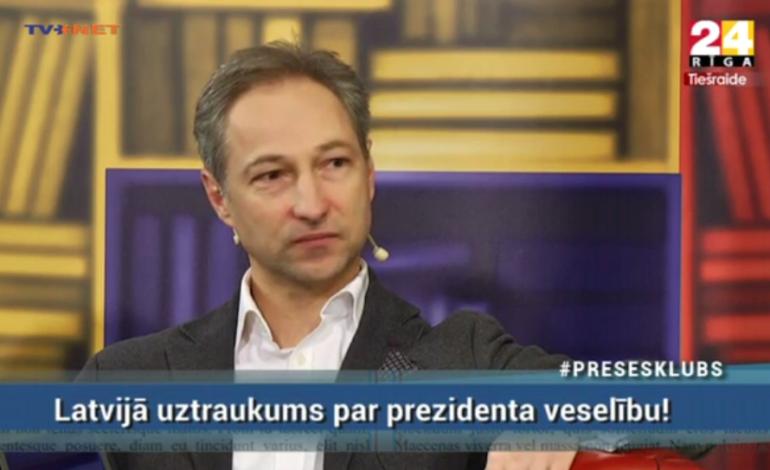 """Jānis Bordāns viesojas RīgaTV 24 raidījumā """"Preses Klubs"""""""