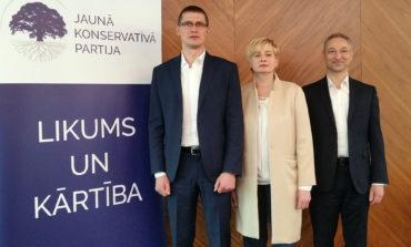 Jaunās konservatīvās partijas Rīgas mēra kandidāti būs Juta Strīķe, Jānis Bordāns un Juris Jurašs