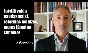 Latvijā valda naudasmaisi, reformas nelīdzēs, mums jāmaina sistēma!