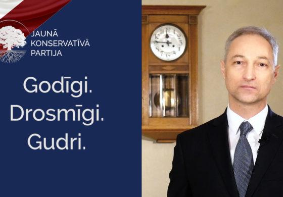 Jaunās konservatīvās partijas valdes priekšsēdētāja Jāņa Bordāna uzruna, sagaidot 2018. gadu