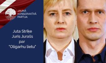 """Juta Strīķe un Juris Jurašs par """"Oligarhu lietu"""""""