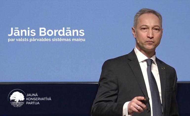 Jāņa Bordāna komentārs par nākamā gada valsts budžetu