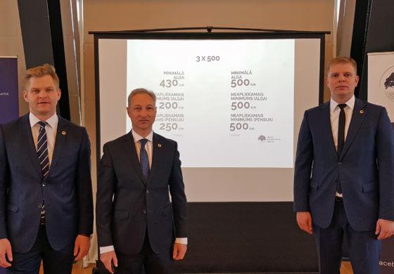 JKP plāno Latvijas vēsturē lielāko nodokļu sloga mazināšanu