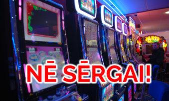 JKP rosina Rīgā pilnīgu azartspēļu zāļu aizliegumu, izņemot luksus klases viesnīcas