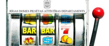 Rīgas Domes valdošā koalīcija kavē azartspēļu aizliegšanu Rīgā