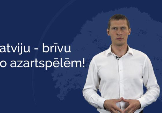 Manabalss.lv sākta parakstu vākšana par azartspēļu zāļu aizliegšanu visā Latvijā