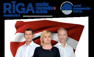 Avīze: JKP Rīga - Latviju brīvu no zagļiem!