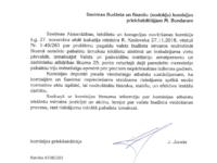 Jura Juraša vēstule Mārtiņam Bondaram