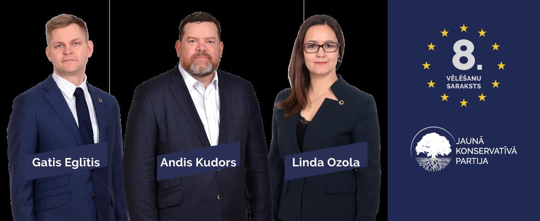 Jauno konservatīvo kandidāti Eiropas Parlamentam