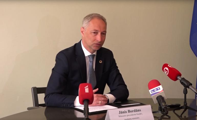 Tieslietu ministrs Jānis Bordāns rosina nākamo ģenerālprokuroru izvēlēties Tieslietu padomei