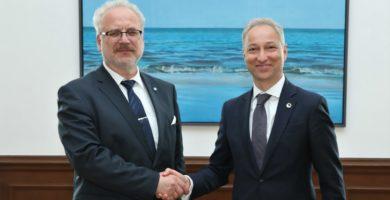 Valsts prezidents atbalsta Jāņa Bordāna ieceri veidot specializēto tiesu un ministra sāktās reformas vērtē pozitīvi