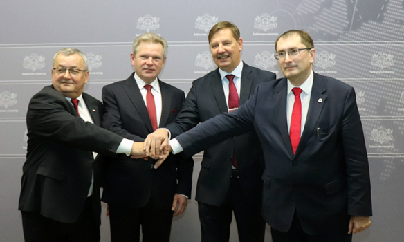 """Baltijas transporta ministri turpinās virzīt """"Rail Baltica"""" kā galveno prioritāti"""