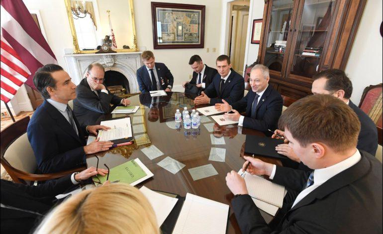 JKP līderi Vašingtonā apspriež Latvijas paveikto cīņā pret ekonomiskajiem noziegumiem